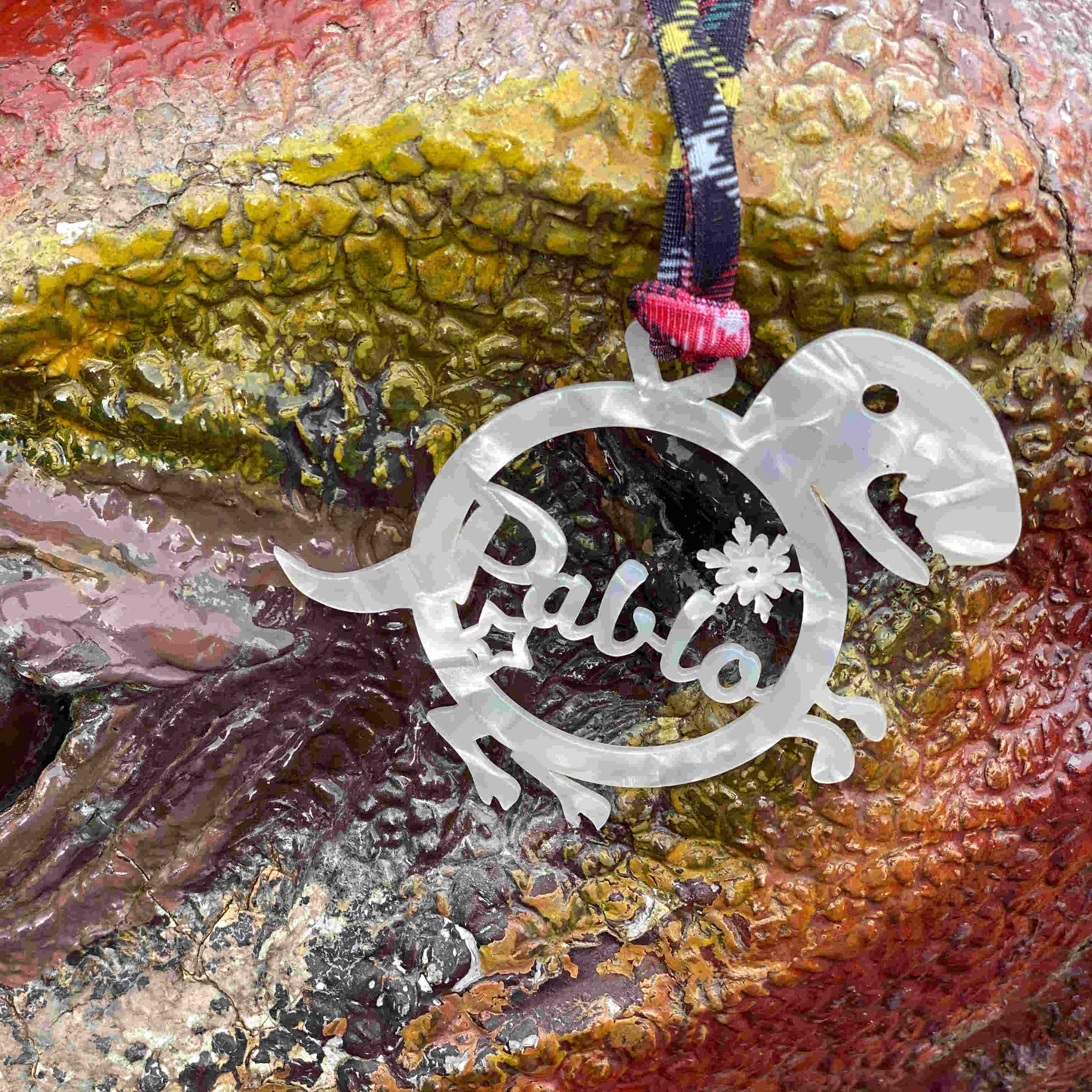 Bola de navidad personalizada Dinosaurio Rex