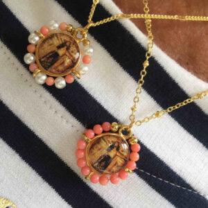 Gargantilla medalla Cristo de Candás