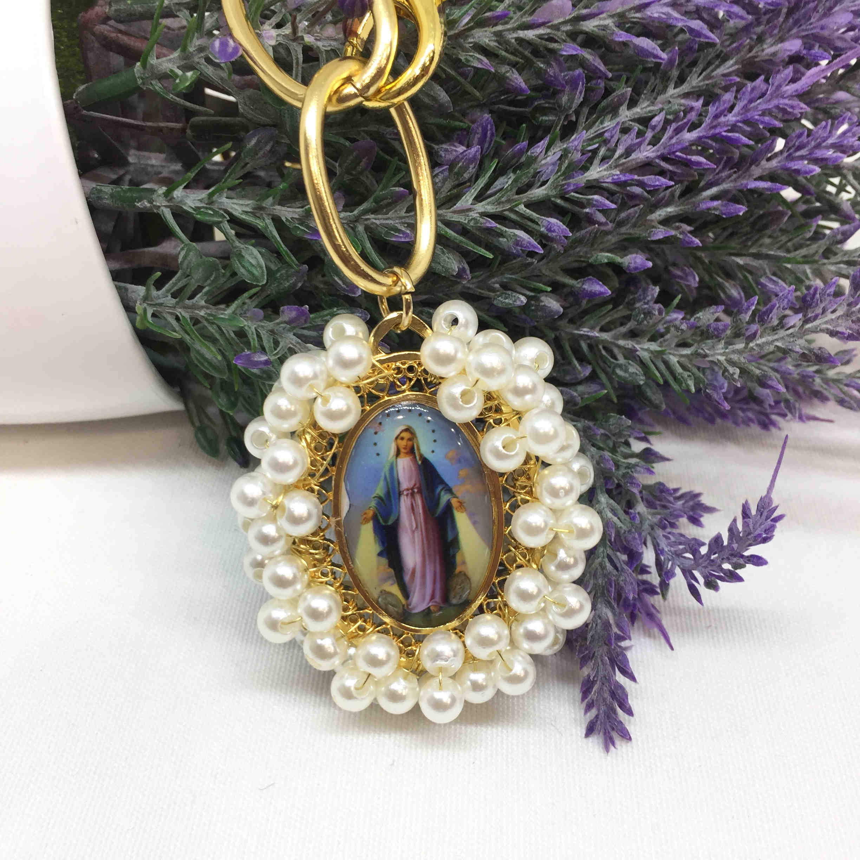 Collar medalla Virgen Milagrosa.